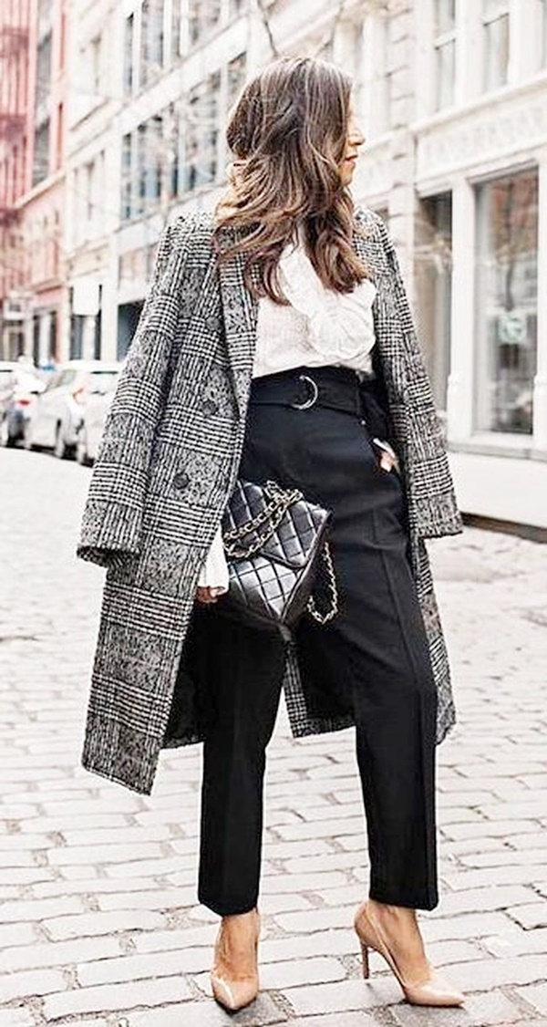 ProfessionalYet Simple Office Outfit Ideas For This Winter
