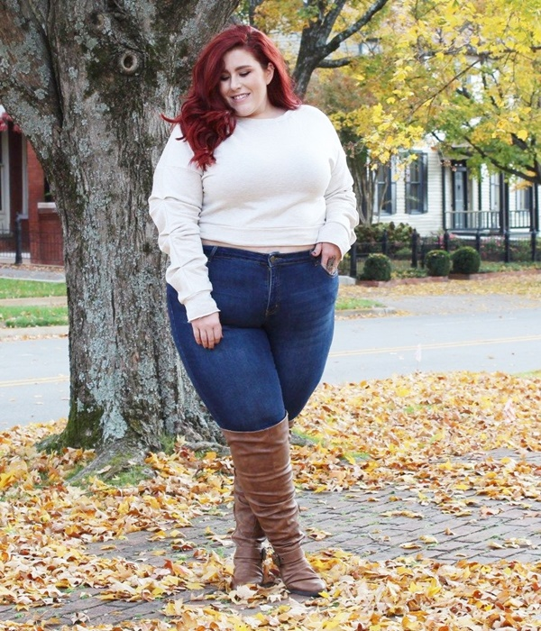 Cute and Preppy Date Night Outfits for Plus Size Women