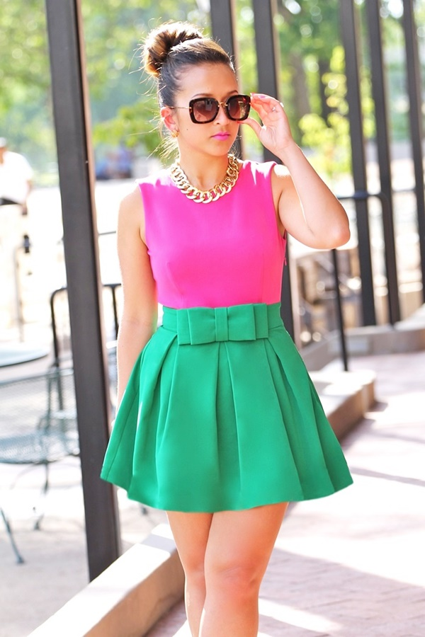 Beautiful Vibrant Color Outfits To Shine Over This World