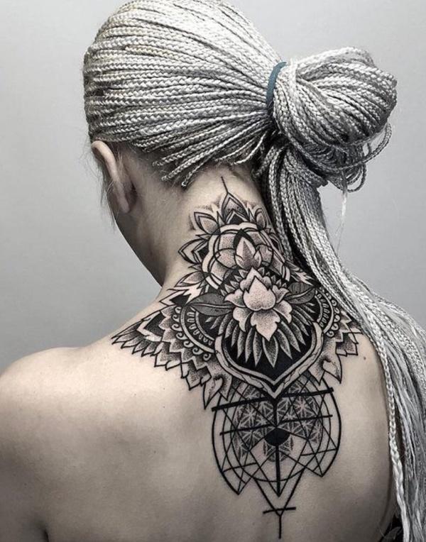 Bold Illustrations Blackwork Tattoos