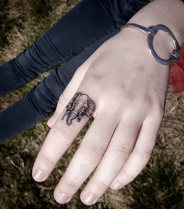 Significant and Tiny Elephant Tattoo Designs