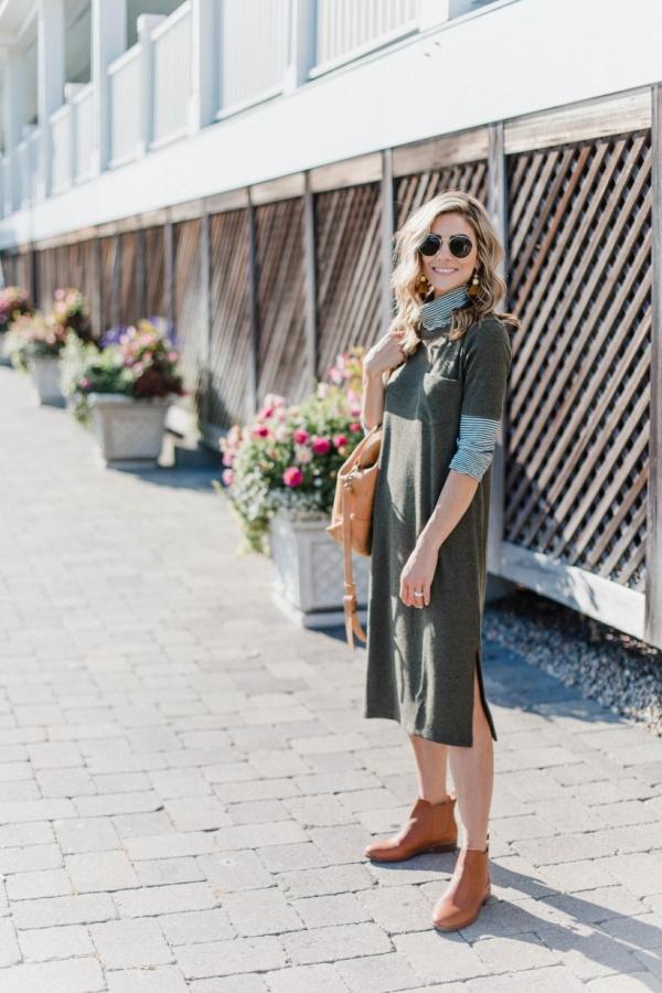 Stylish Ways To Wear Sweaterdress Outfits